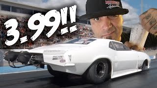 Big Chief's CROWMOD Goes 3.99 @ 190 MPH!