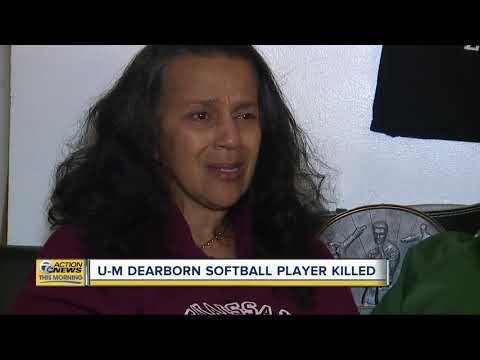 U-M Dearborn softball player killed in Detroit