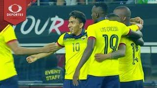 Gol de Mena   México 1 - 1 Ecuador   Partido amistoso   Televisa Deportes