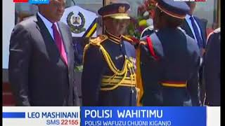 Leo mashiani: Polisi wafuzu chuoni kiganjo