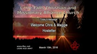 Welcome Chris & Maggie Hostetter