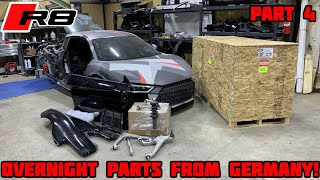Rebuilding a Wrecked 2018 Audi R8 Part 4
