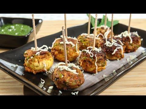 Video Stuffed Mushrooms   How To Make Stuffed Mushrooms   Mushroom Recipe   Recipe by Ruchi Bharani