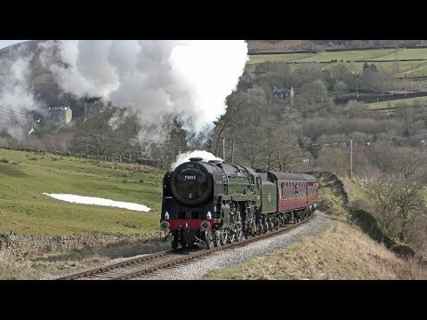 The Keighley & Worth Valley Railway Spring Steam Gala 9th Ma…