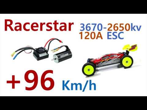 Racerstar 3670/2650kv motor and 120A ESC