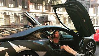 АкадемеГ на минималках и его БМВ BMW i8 за 10 лямов