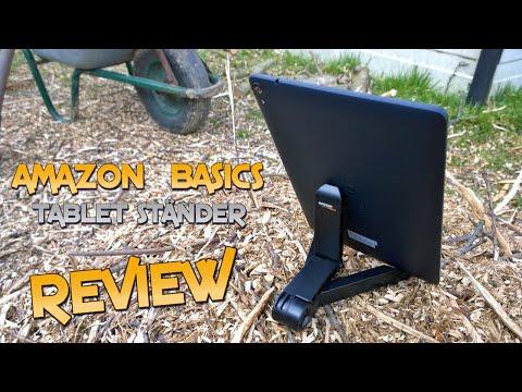 Review: Amazon Basics Tablet-Ständer - Deutsch