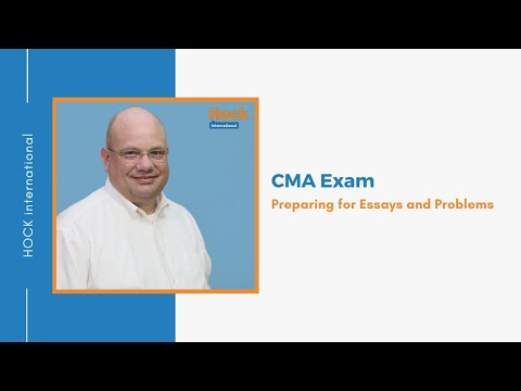 Preparing for CMA Exam Essays and Problems - YouTube