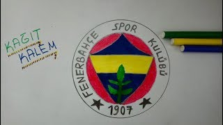 Fenerbahçe Logo Çizimi | Fenerbahçe Şükrü Saracoğlu 2018