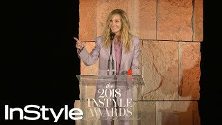 Julia Roberts Owes Her Style to Her 22-Year-Old Self & a Pair of Leggings | InStyle Awards | InStyle