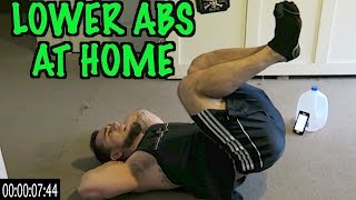 Intense Tabata At Home Lower Ab Workout (HIIT) by Anabolic Aliens