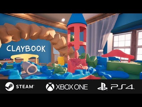 Claybook Launch Trailer (Steam, Xbox & PS4) thumbnail
