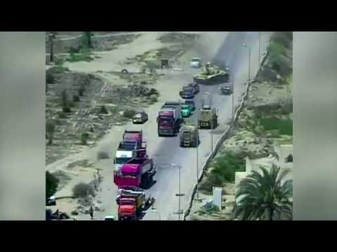 Египетские солдаты проехались танком по шахид-мобилю, но не предотвратили взрыв