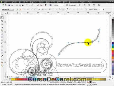 CorelDraw Tutorial: Draw a Flower Tattoo