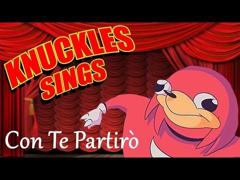 knuckles sings at sonic español