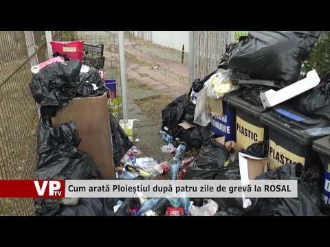 Cum arată Ploieștiul după patru zile de grevă la ROSAL