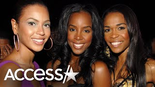 Beyoncé & Michelle Williams Watched Kelly Rowland Give Birth