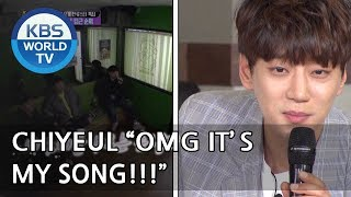 Someone's singing Hwang Chiyeul 's song already??! [Happy Together/2018.05.03]