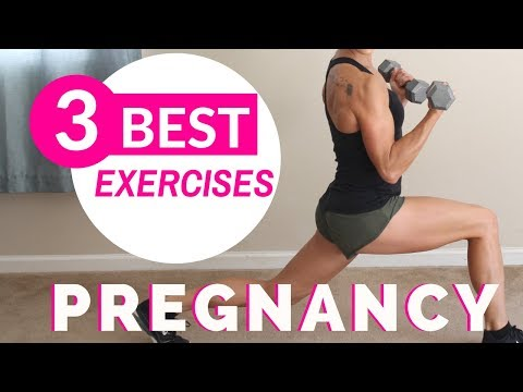 3 BEST PRENATAL EXERCISES | Pregnancy Workout At Home ...