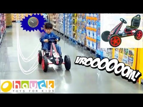 HAUCK HIGHLANDER PEDAL GO CART Ride On