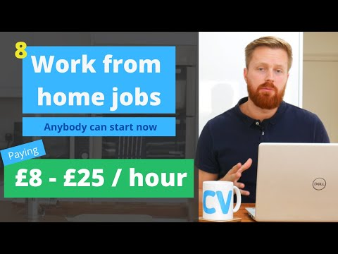 , title : '8 work from home jobs anyone can start now | UK, US Worldwide