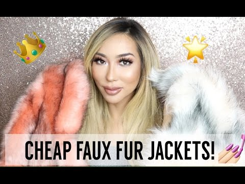 HAUL: CHEAP FAUX FUR JACKETS! | Arika Sato