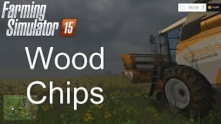 Where to sell wood chips in farming simulator 15