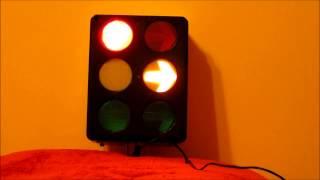 Australian 6-aspects traffic light / semafor australian cu 6 pozitii