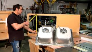 How to Size a Kitchen Sink : Home Sweet Home Repair