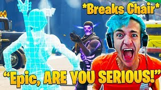 Ninja FREAKS OUT After Losing in Solo Tourney! (Important Message to Epic Games)