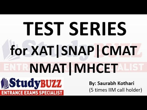 Test Series for XAT | CMAT | SNAP | NMAT | MHCET exams