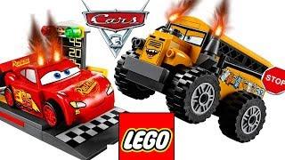 ТАЧКИ 3 ЛЕГО Маквин - Мультики про МАШИНКИ все серии подряд СБОРНИК. Disney Cars 3 LEGO.