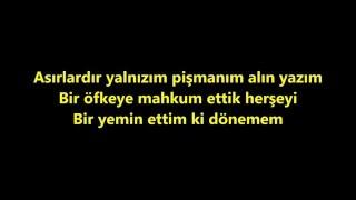 Tarkan / Yemin Ettim (Lyrics-Sözleri)