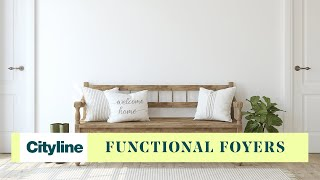 3 Decor Tips To Create A Fake Foyer In A Small Entry Space