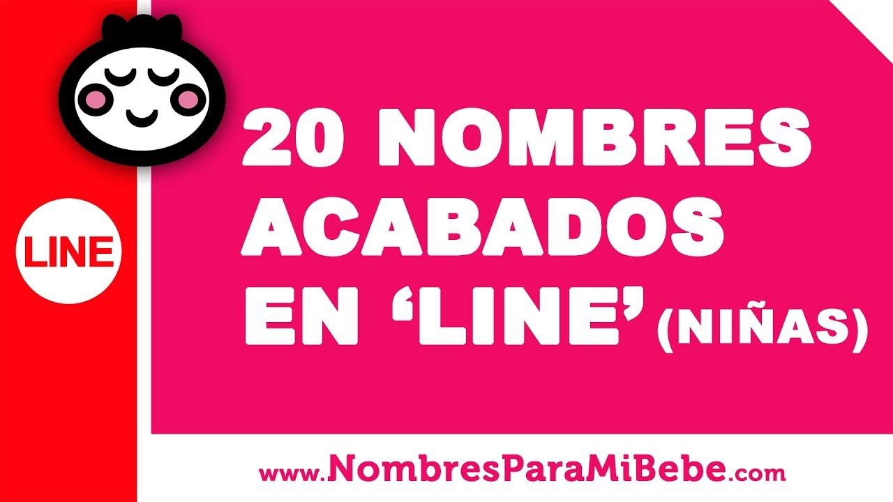 20 nombres para niñas terminados en LINE - los mejores nombres de bebé - www.nombresparamibebe.com