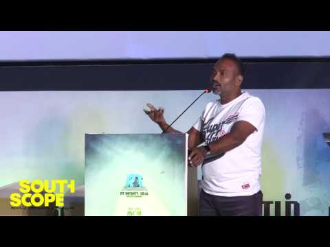 Vijay Milton speaks at Bongu audio launch