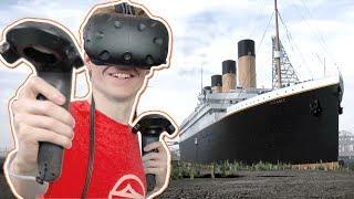 TITANIC SIMULATOR IN VIRTUAL REALITY!   Titanic: Honor and Glory VR Demo 3 (HTC Vive Gameplay)