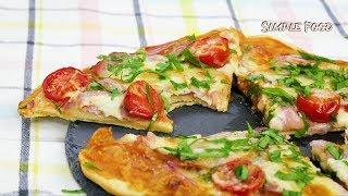 Сразу ТРИ рецепта БЫСТРОЙ ПИЦЦЫ / Вкусная Пицца за 15 минут