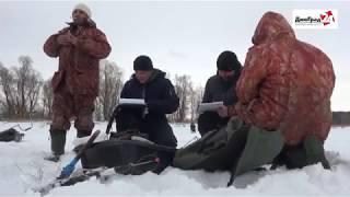 Зимняя рыбалка на черемшане в димитровграде