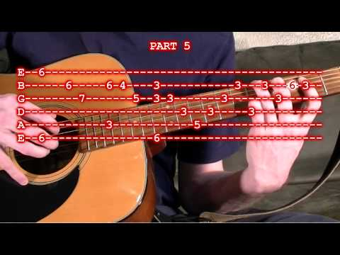 Silent Night Guitar Tab Lesson - Finger Picking Version