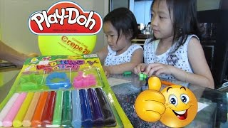 Belajar Berhitung - Mainan Anak Play Doh Modeling Dough Dragonfly Leaf Star @LifiaTubeHD OK