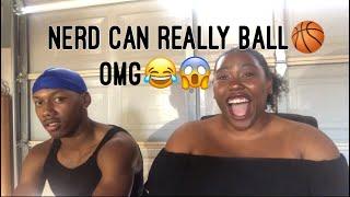 Nerd balls on strangers Reaction