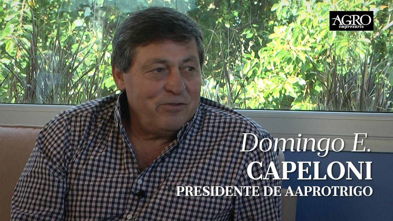 Domingo E. Capeloni - Presidente de AAPROTRIGO