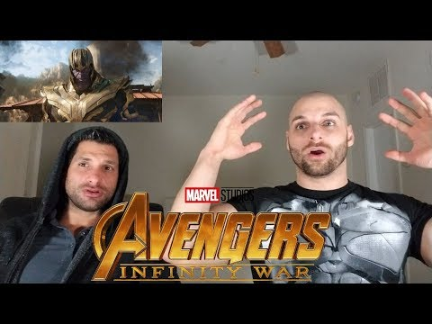Marvel Studios' Avengers: Infinity War - Official Trailer [REACTION]