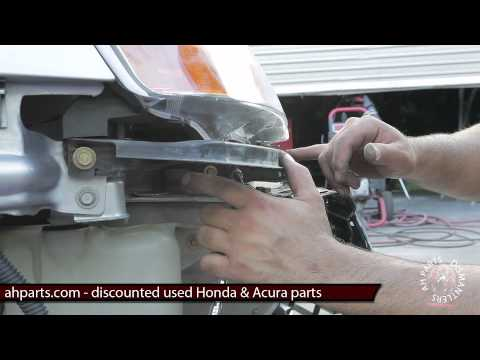 How To Replace Install Change Front Bumper Replacement - 2003 acura tl front bumper