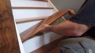 How To Install Prefinished RetroFit Stair Treads from Stair-Treads.com