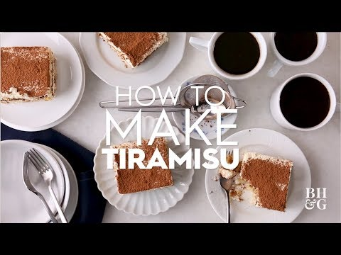 How to Make Tiramisu | Basics | Better Homes & Gardens