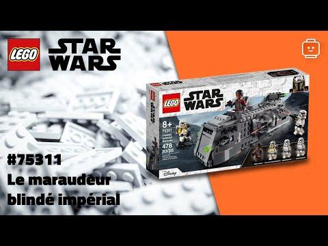 Vidéo LEGO Star Wars 75311 : Le maraudeur blindé impérial