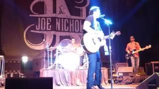 """Joe Nichols-Live-""""Shape I'm In""""-Band Intros"""