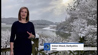 Snow weather pictures & other + forecast across the UK - BBC weather - 23rd January 2021